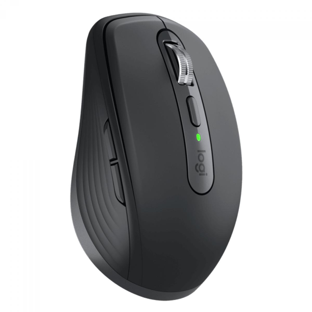 Mouse Logitech MX Anywhere 3 Wireless, 4000 DPI, 6 Botões, Gray, 910-005992