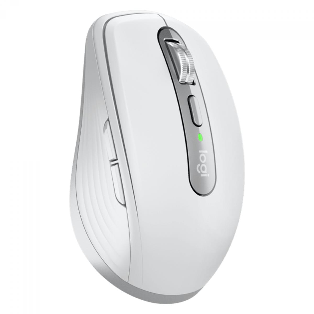 Mouse Logitech MX Anywhere 3 Wireless, 4000 DPI, 6 Botões, White, 910-005993