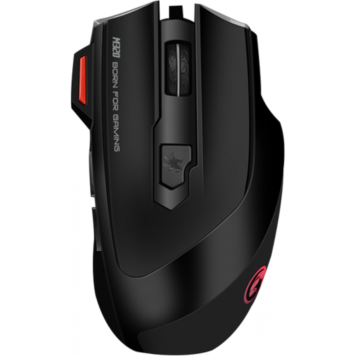 Mouse Marvo Gamer M320 Wired 7 Botões 3200 DPI LED 7 Cores