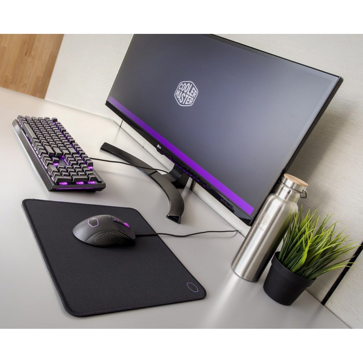 Mouse Pad Gamer Cooler Master Pequeno MP510 MPA-MP510-S