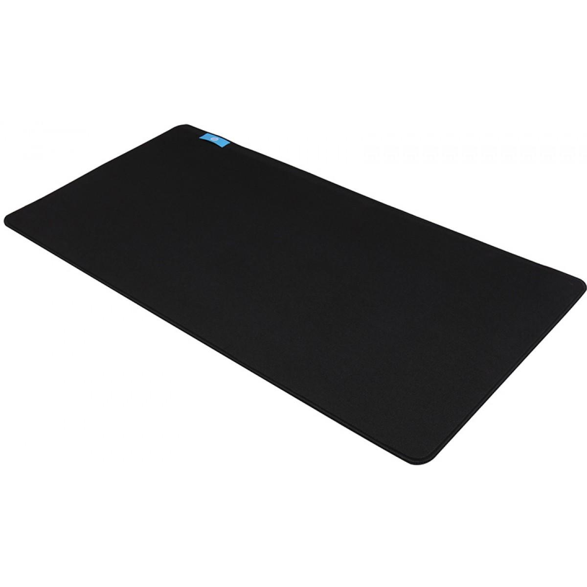 Mouse Pad Gamer HP MP7035, Grande, Borda Costurada, Black
