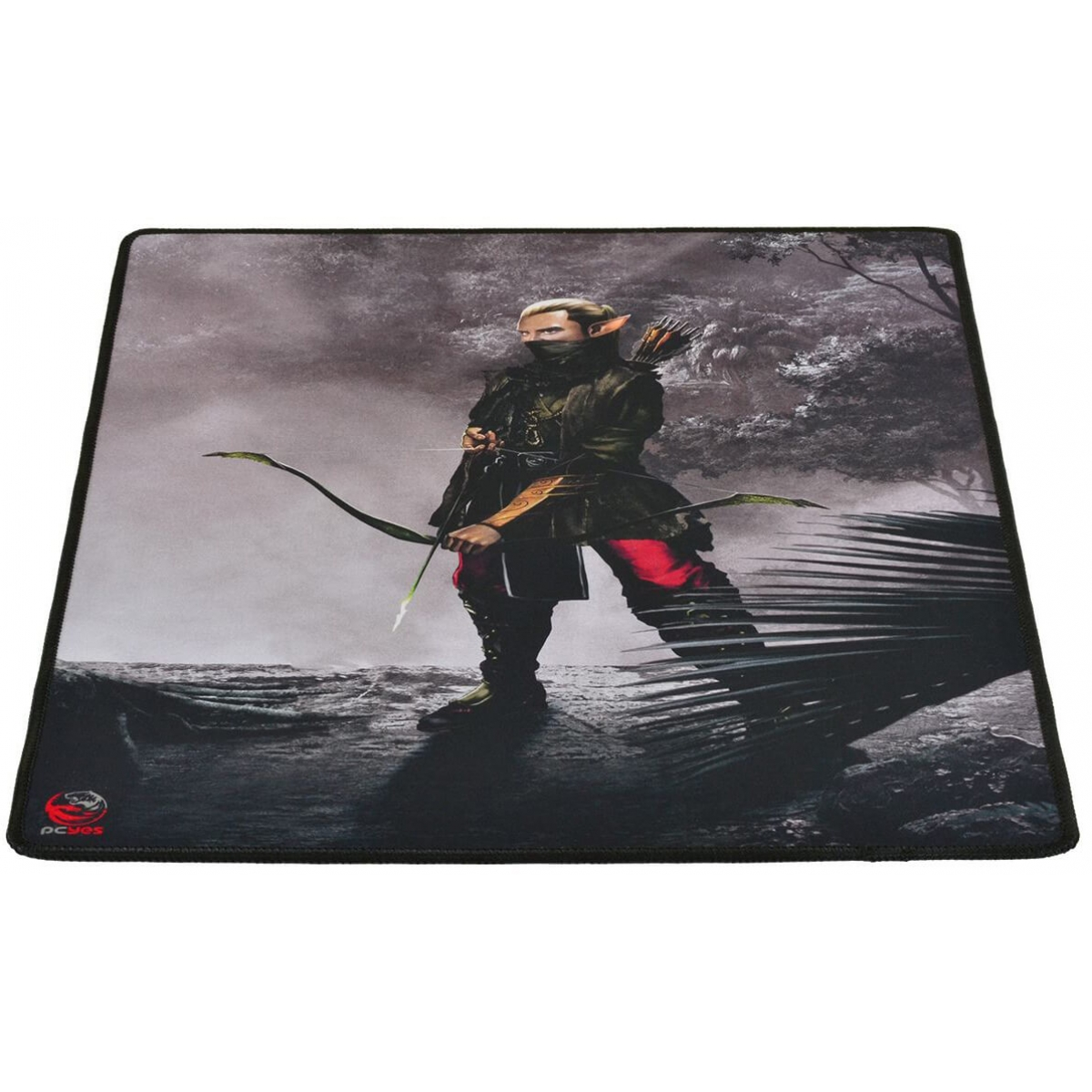 Mouse Pad Gamer PCyes RPG Archer Borda Costurada RA40X50