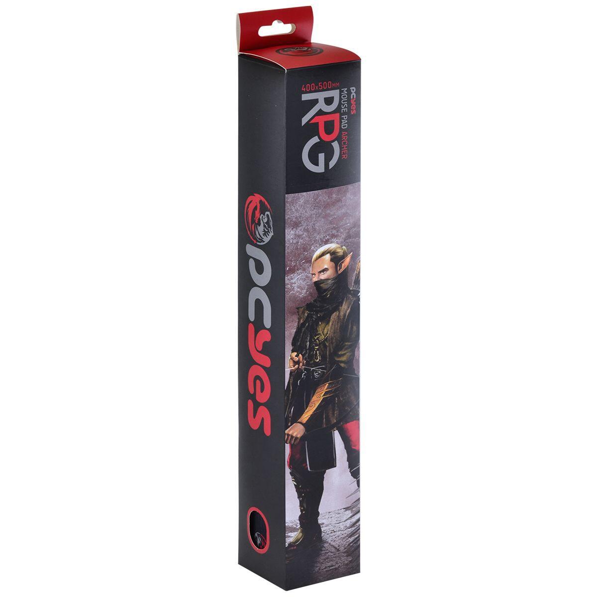 Mouse Pad Gamer PCyes RPG Archer Borda Costurada RA40X50