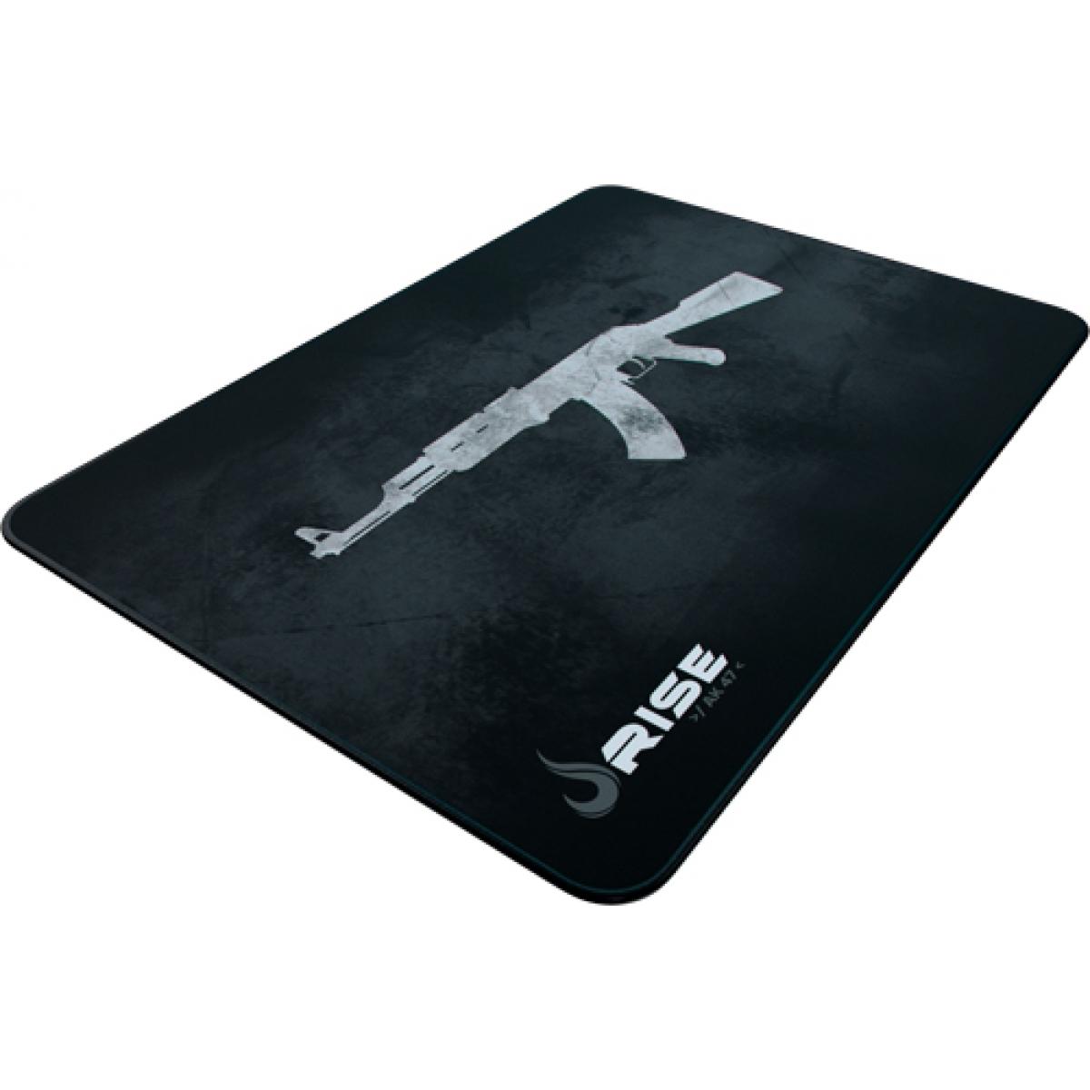 Mouse Pad Gamer Rise AK47 RG-MP-05-AK Grande Borda Costurada