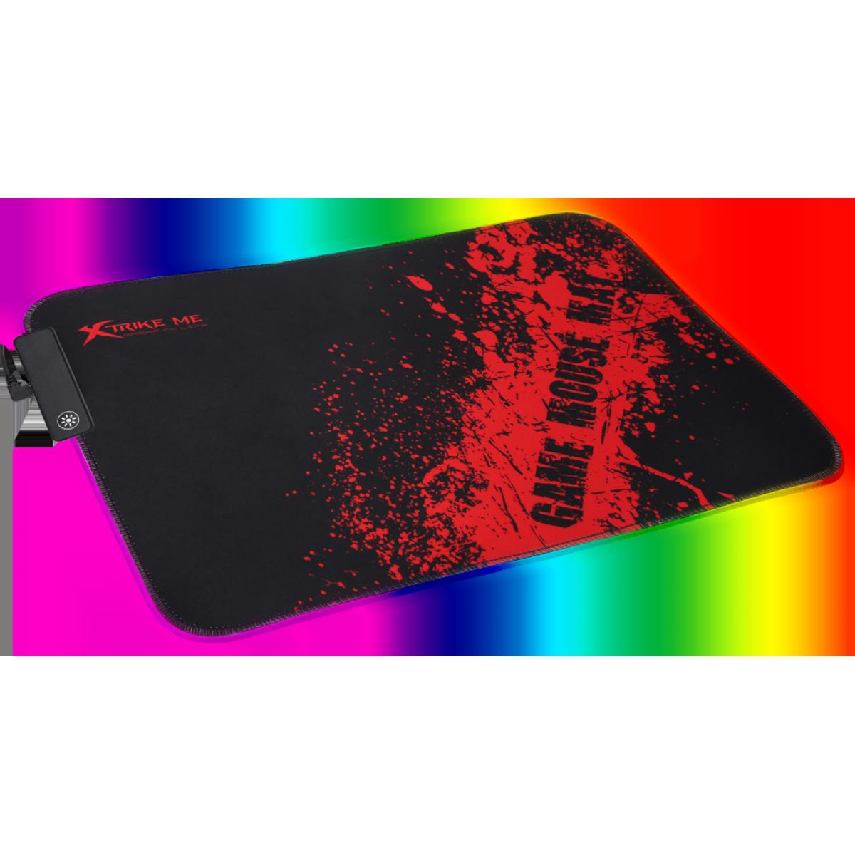 Mouse Pad Gamer Xtrike-Me MP-602, RGB