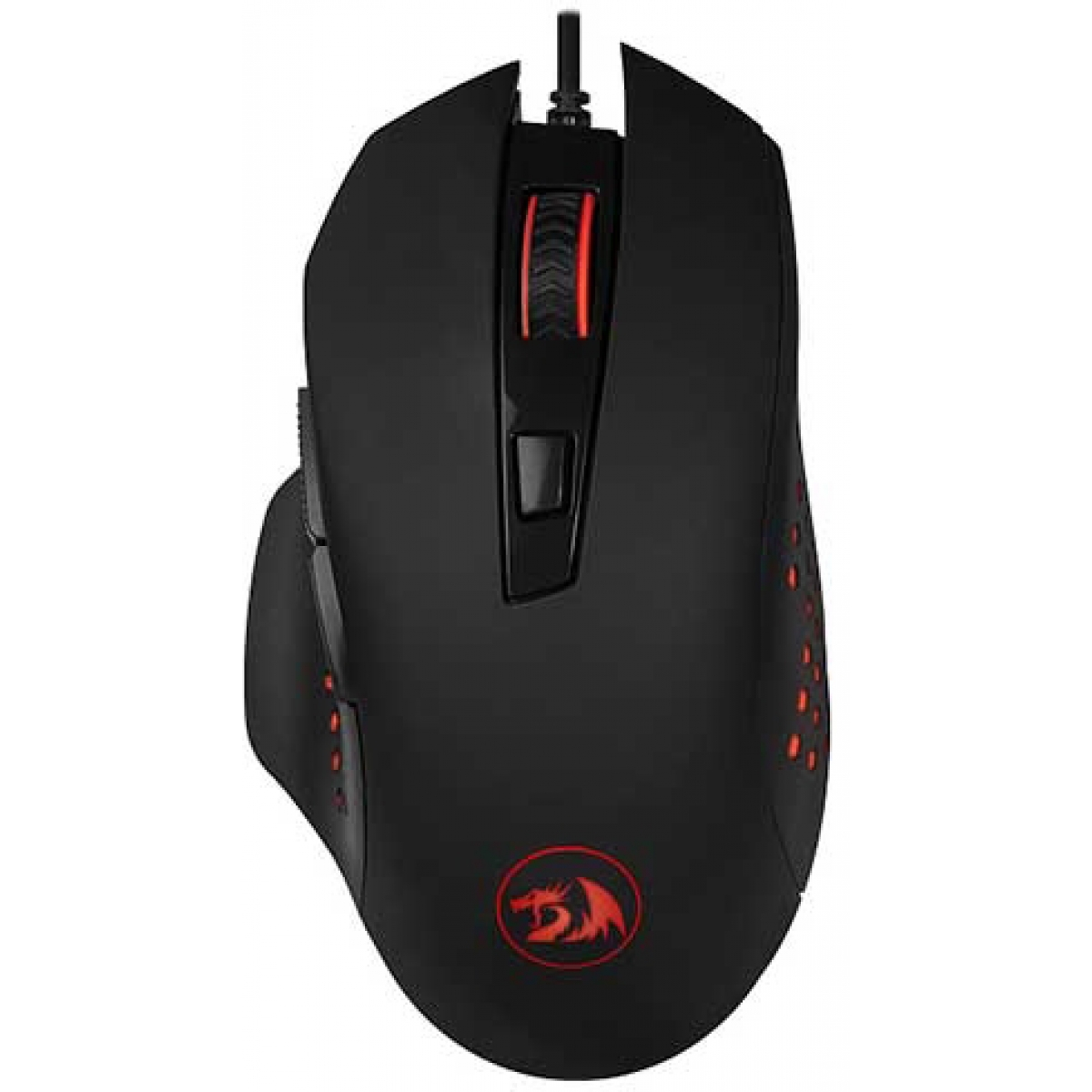 Mouse Gamer Redragon Gainer M610, 3200 DPI, 6 Botões, Black