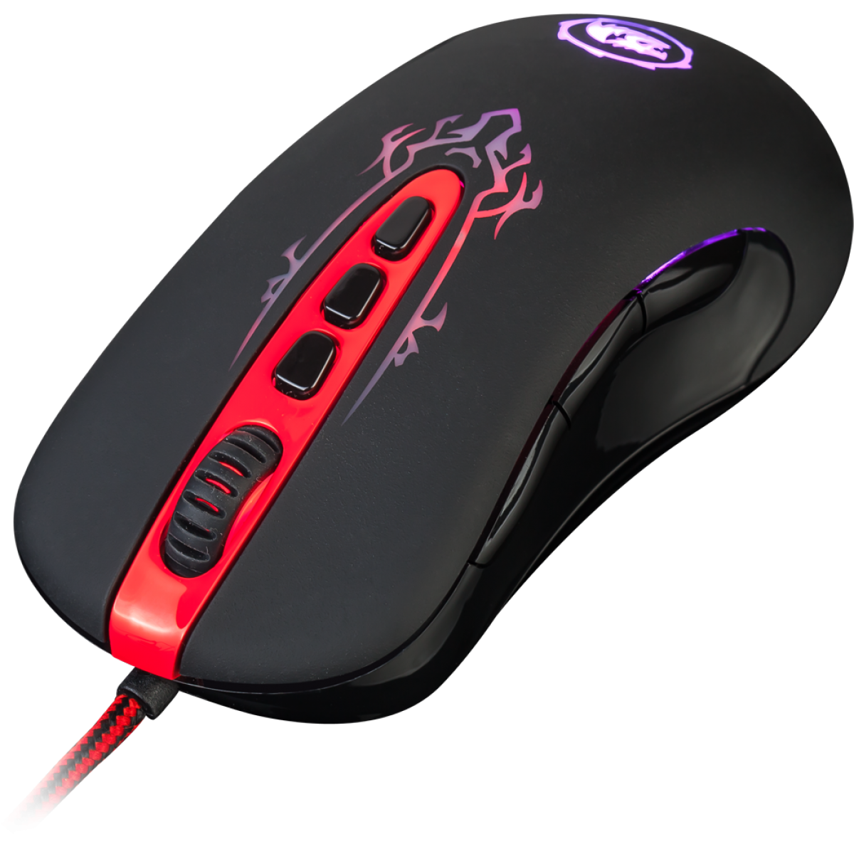 Mouse Gamer Redragon Origin M903, 4000 DPI, 8 Botões, Black
