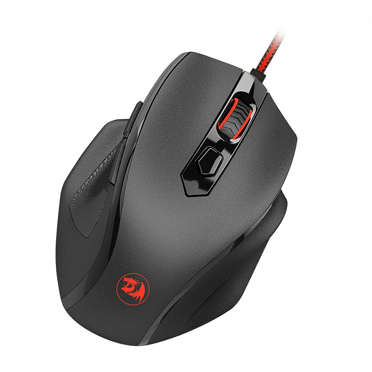 Mouse Gamer Redragon Tiger M709 RGB, 10000 DPI, 6 Botões, Black