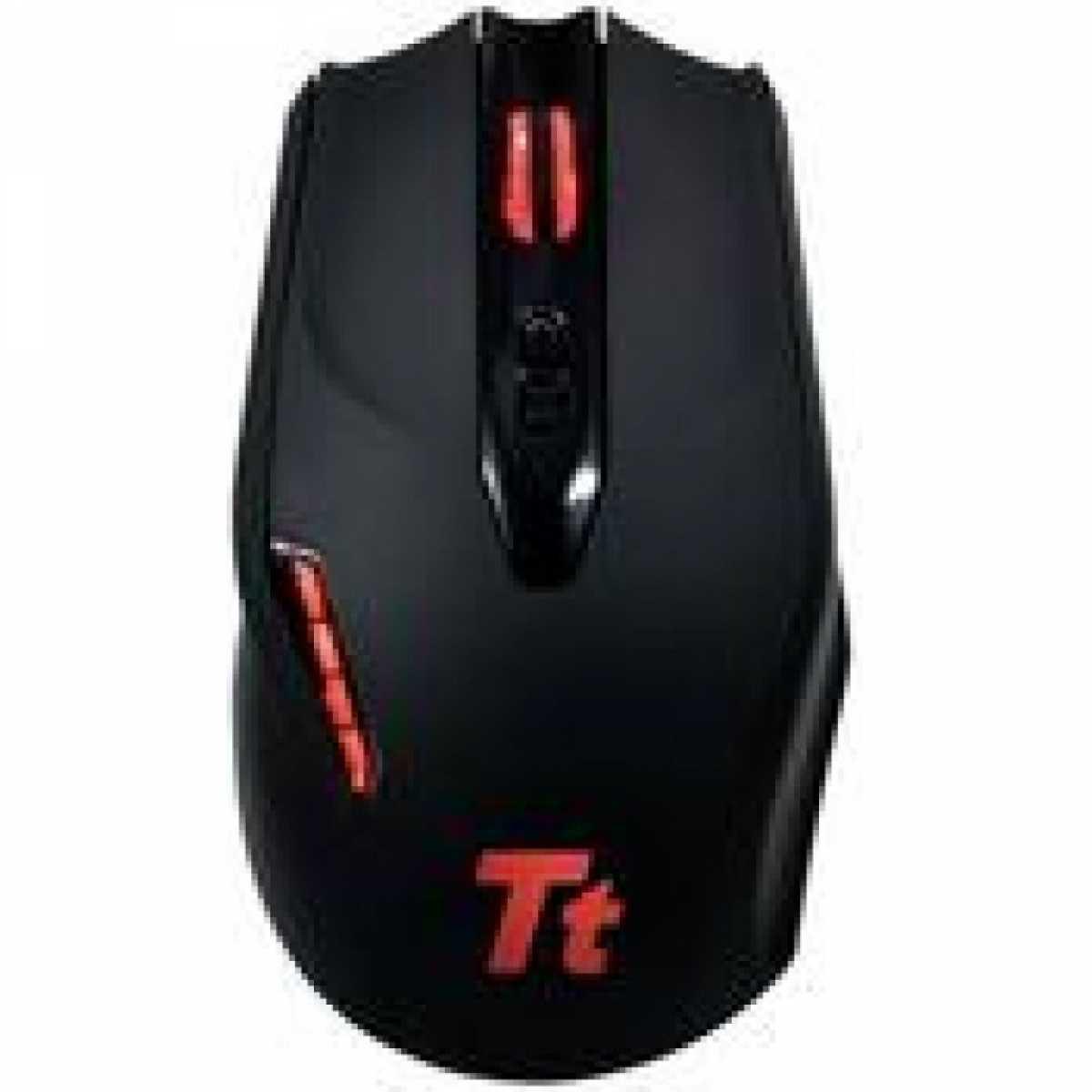 Mouse Gamer Thermaltake eSports, 4000 DPI, Black, MOBLK002DT