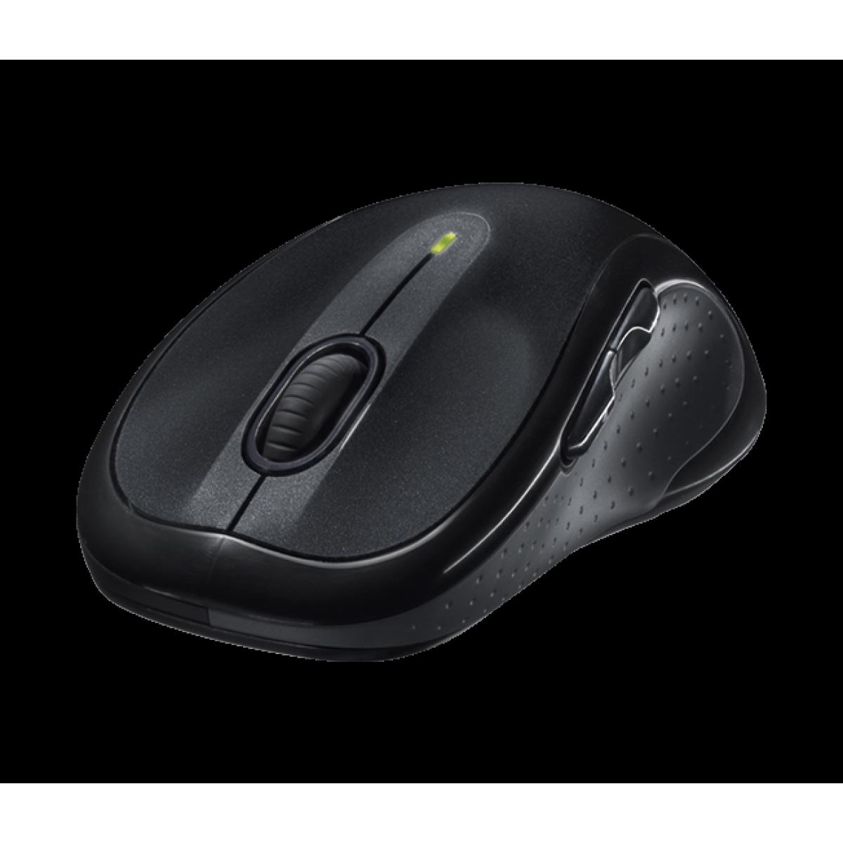 Mouse Wireless Logitech M510, 1000 DPI, Black, 910-001822
