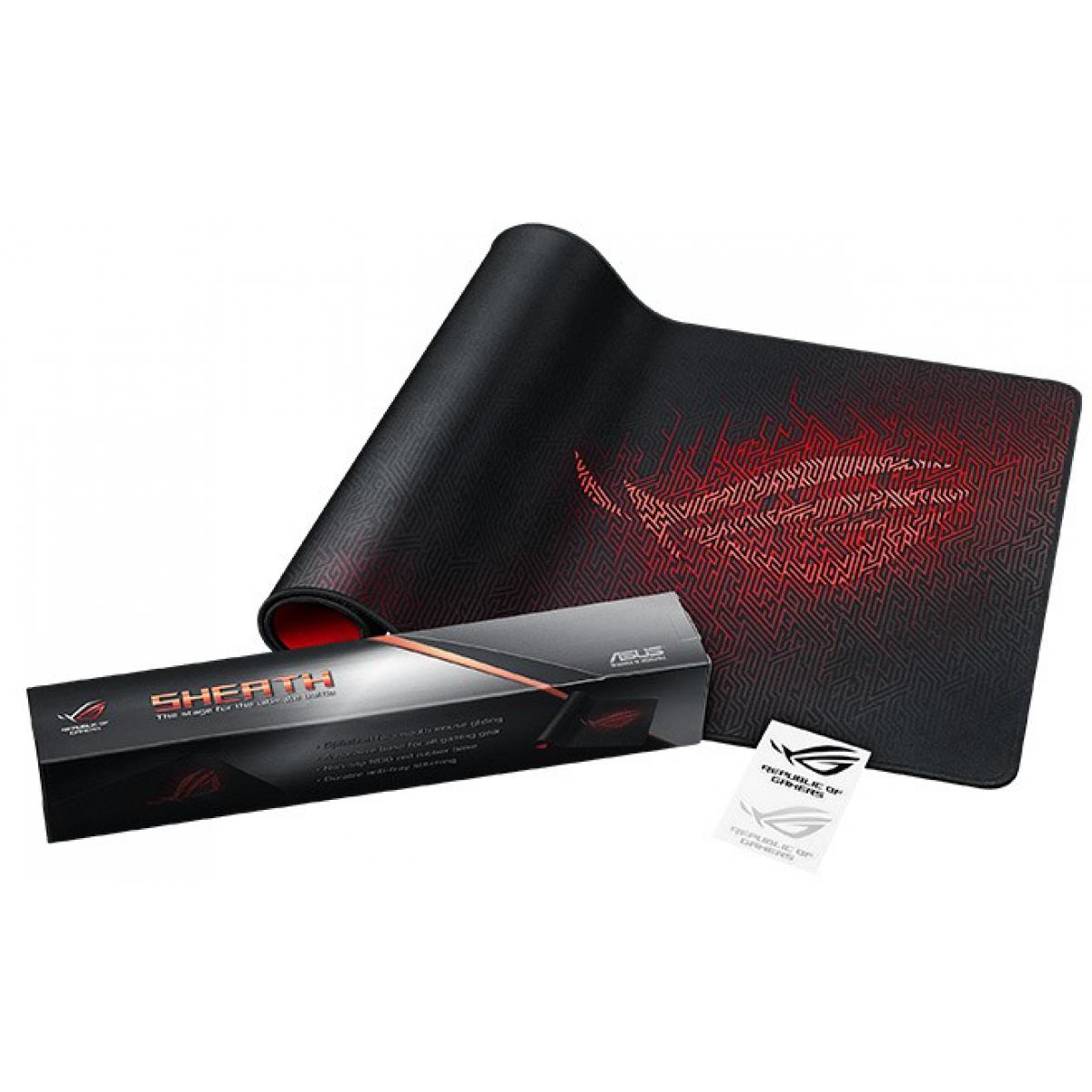 Mousepad Gamer Asus ROG Sheath Extra-grande 90MP00K1-B0UA00