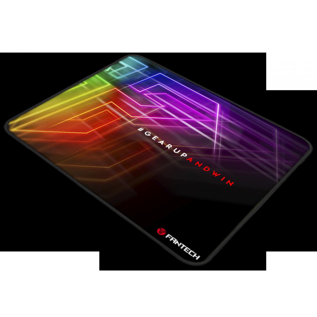 Mousepad Gamer Fantech Vigil, Black, 290x250mm, MP292