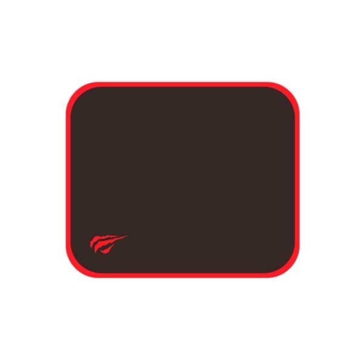 Mousepad Gamer Havit MP839, Pequeno, Black/Red, HV-MP839