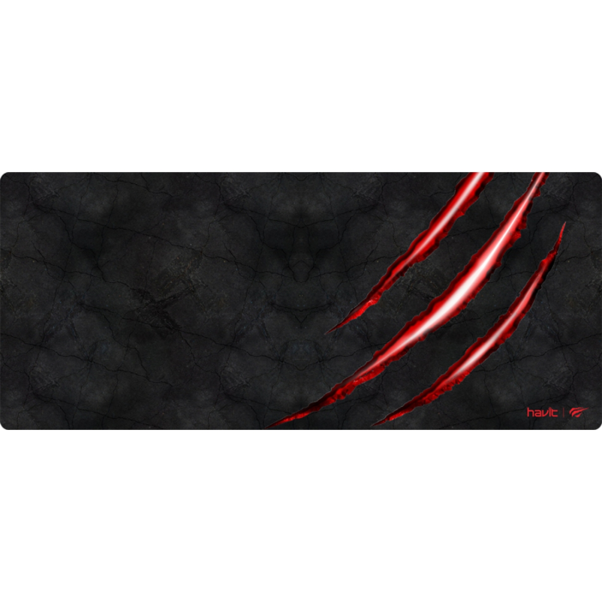 Mousepad Gamer Havit MP860 Preto/Vermelho HV-MP860