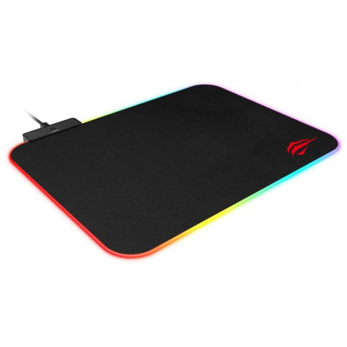 Mousepad Gamer Havit MP901 RGB, Médio, Black