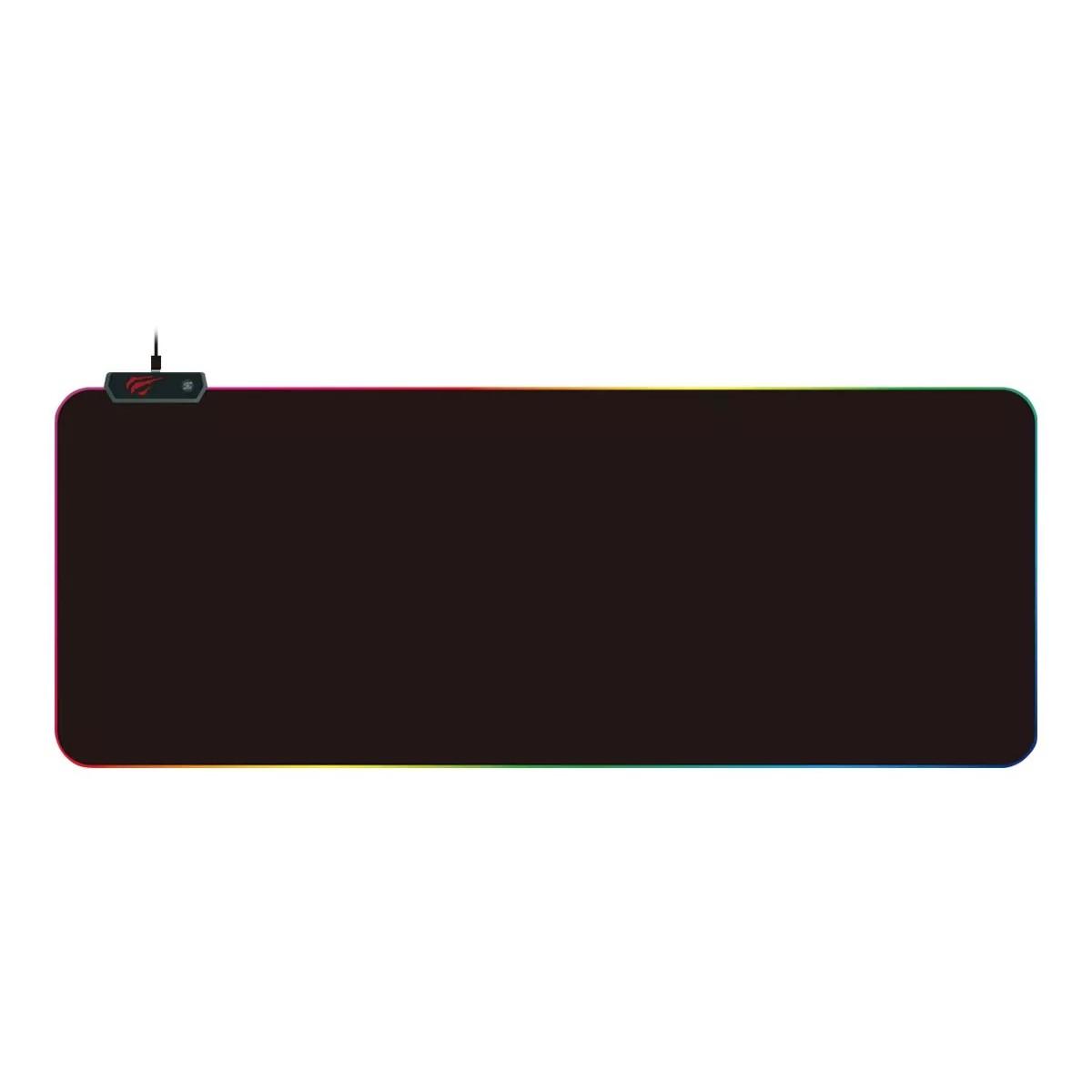 Mousepad Gamer Havit, MP905, RGB, XL, Black, HV-MP905 RGB