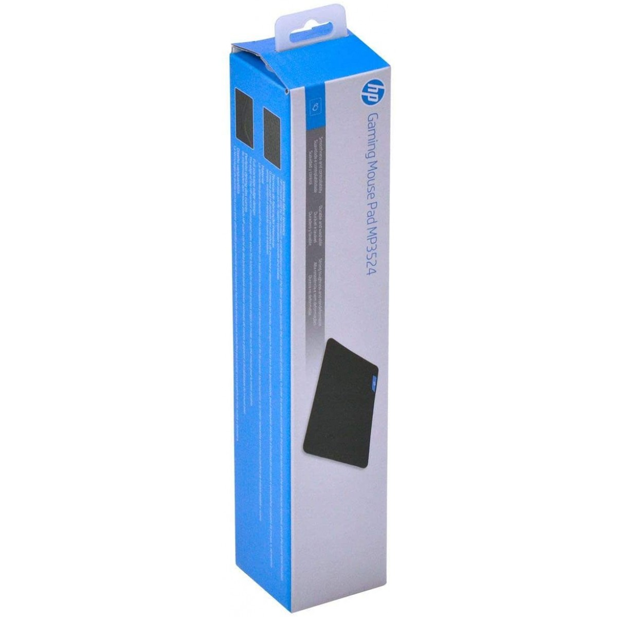 Mousepad Gamer HP MP3524, Pequeno, Prova D'agua, Black, 30628