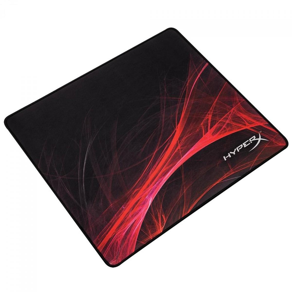Mousepad Gamer HyperX Fury S Speed, Black, Grande (450x400mm), HX-MPFS-S-L