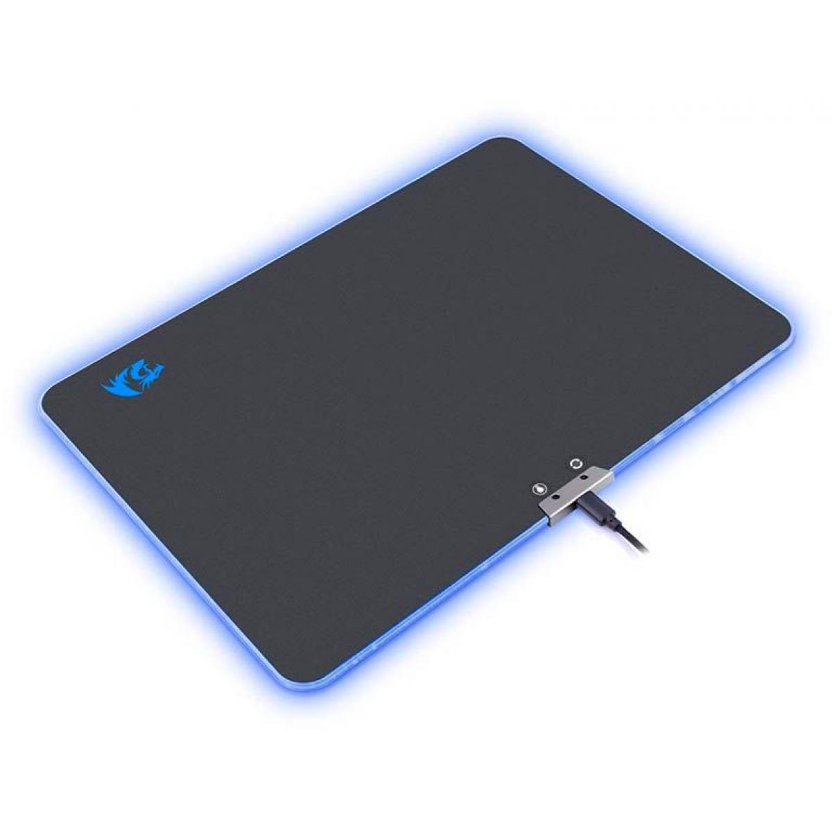 Mousepad Gamer Redragon Aurora P010 RGB