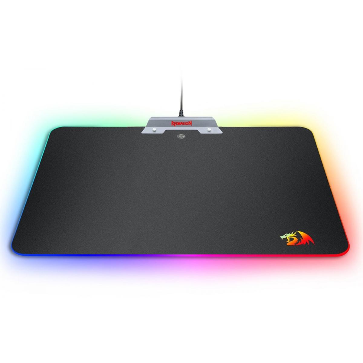 Mousepad Gamer Redragon Orion P011 Médio RGB