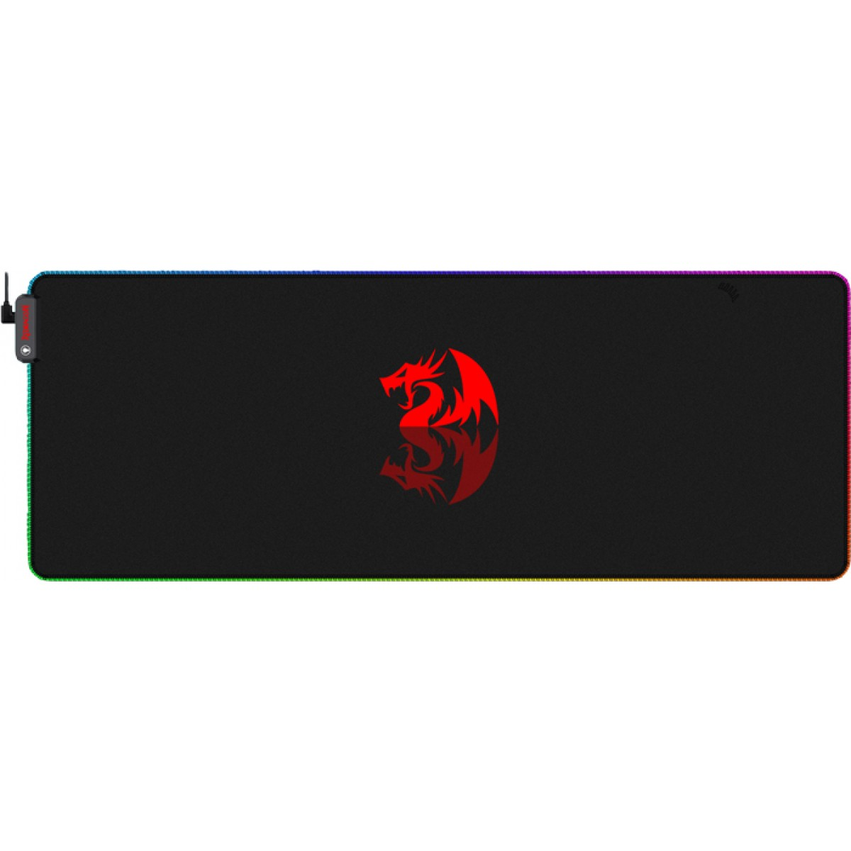 Mousepad Gamer Redragon P027 RGB, Ex Grande