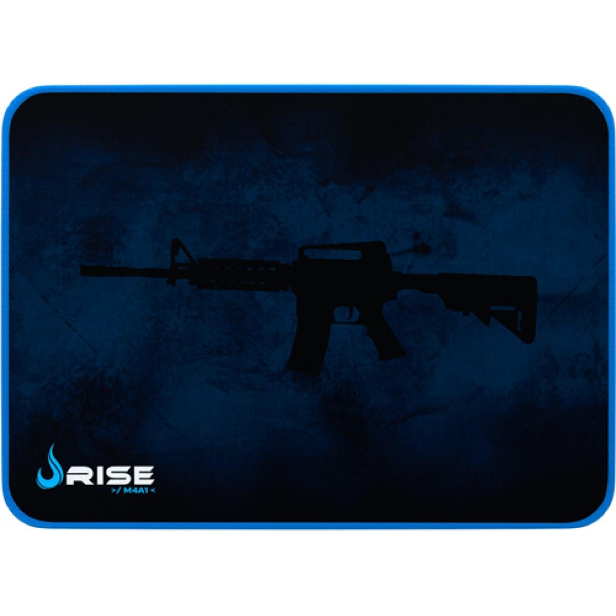 Mousepad Gamer Rise Médio Azul RG-MP-04-MA
