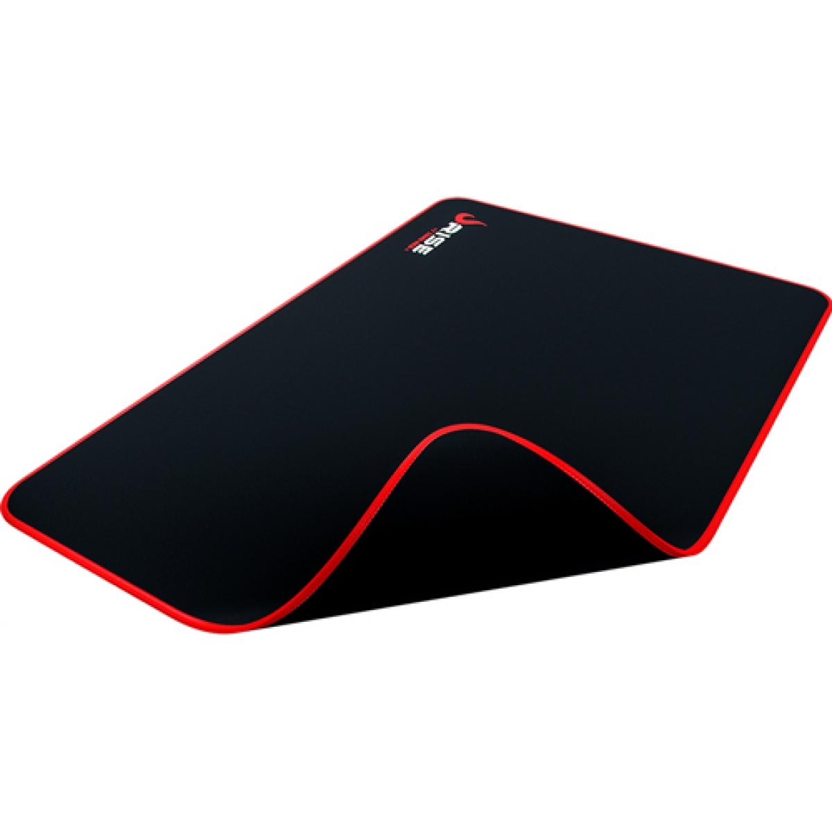Mousepad Gamer Rise Médio Zero Vermelho RG-MP-04-ZR