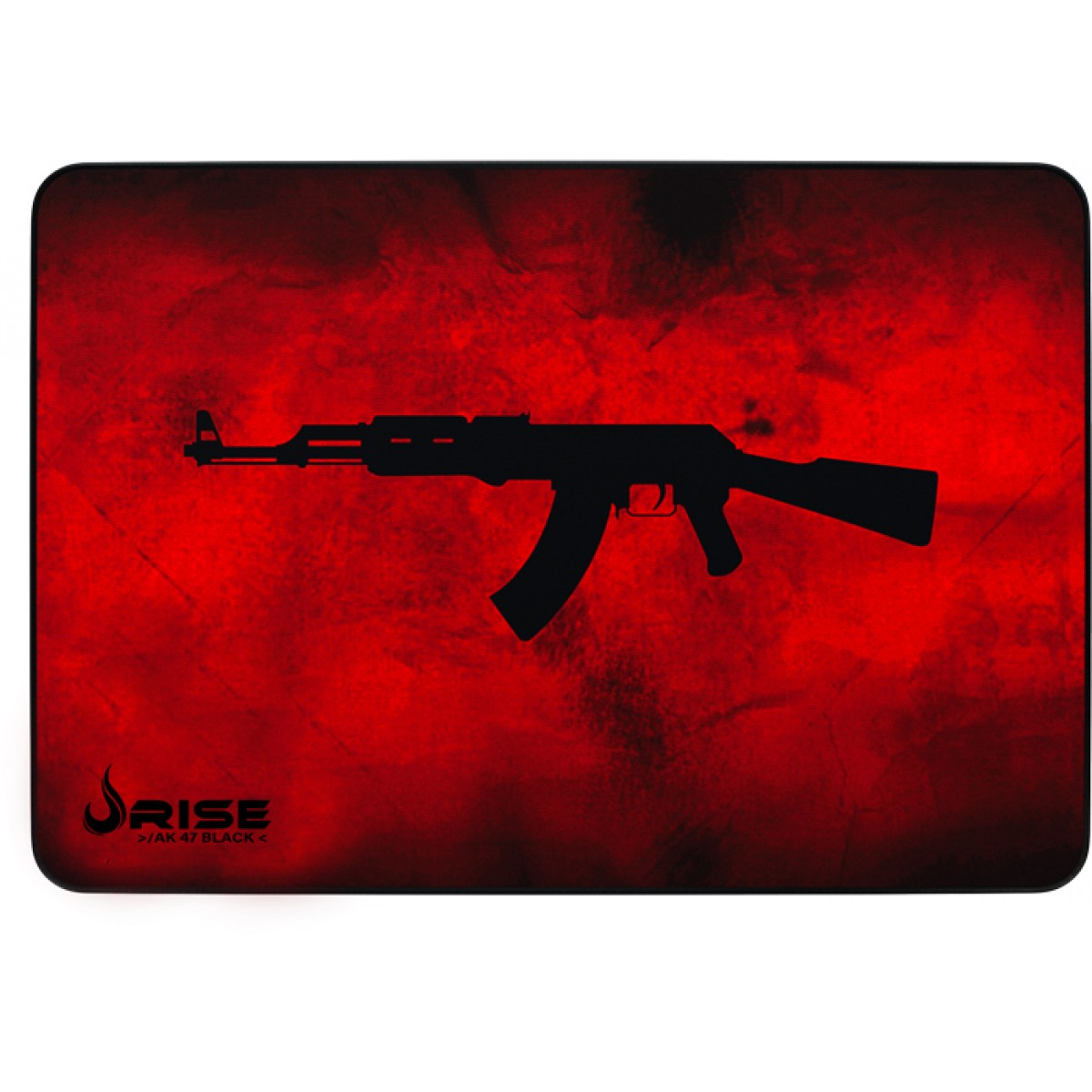 Mousepad Gamer Rise Mode AK47 Speed, Grande, Red, RG-MP-05-AKR