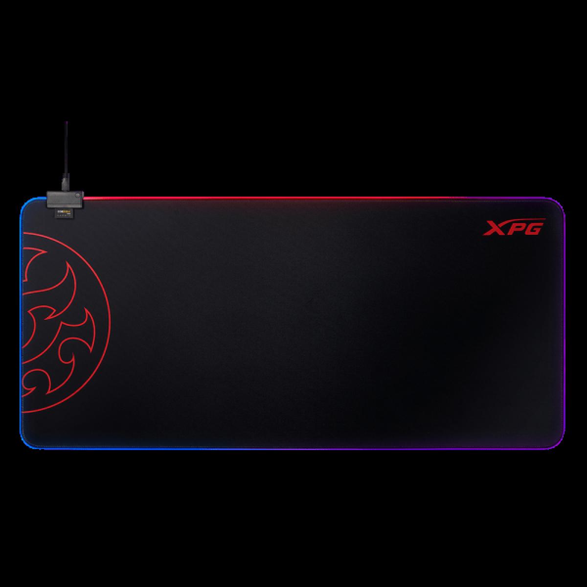 Mousepad Gamer XPG, BattleGround XL Prime, XG, RGB, 940x420mm, Black, BATTLEGROUNDXLPRIME-BKCWW