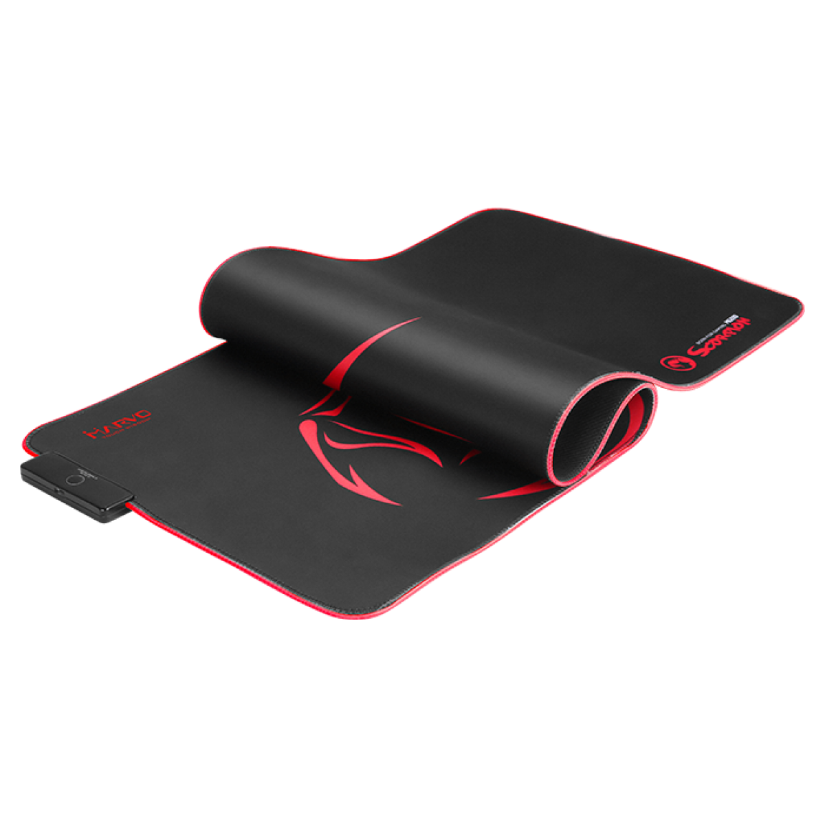 Mousepad Marvo Gamer Scorpion, Speed, Grande, RGB, MG010