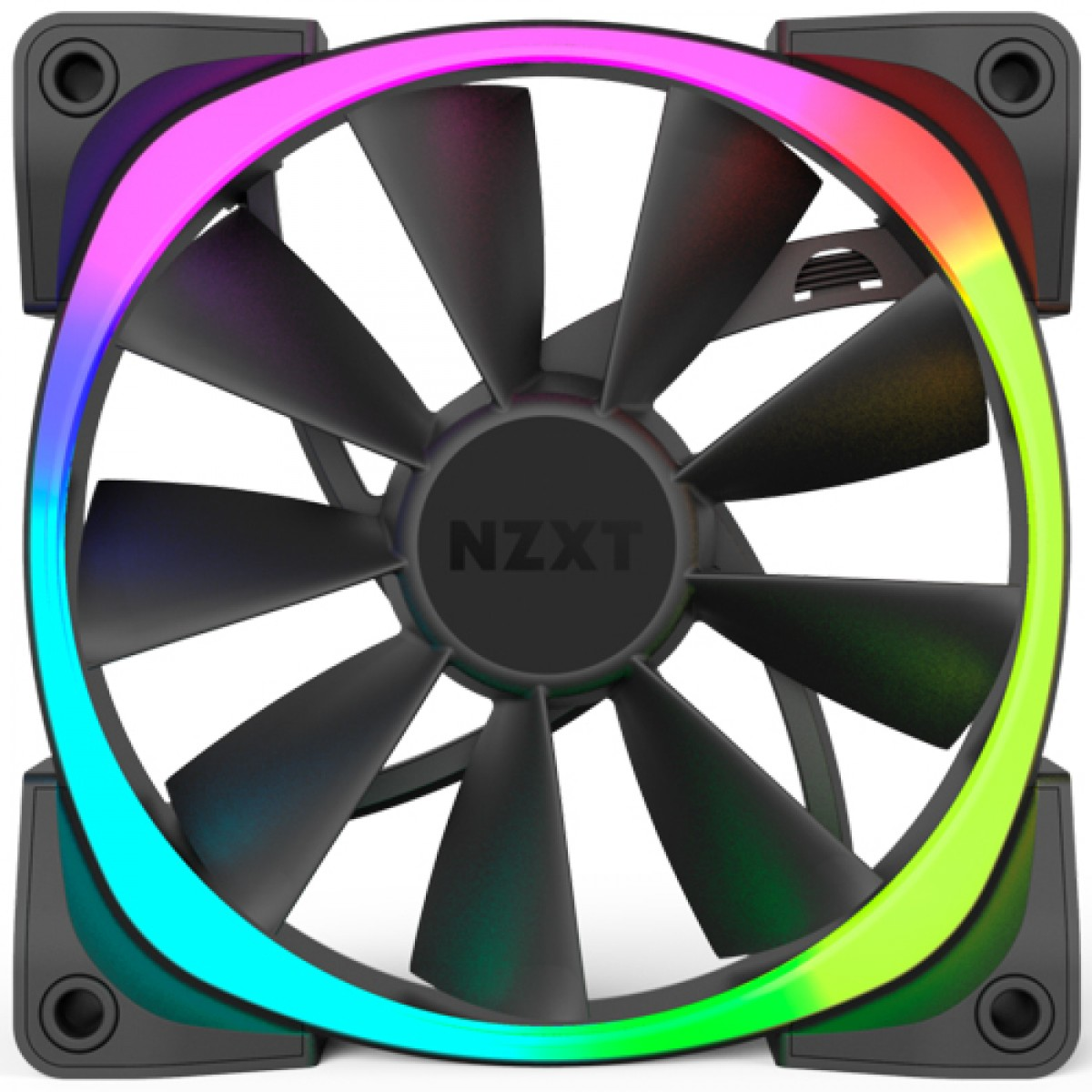 Kit Fan com 3 Unidades NZXT Aer, RGB 120mm, RF-AR120-T1