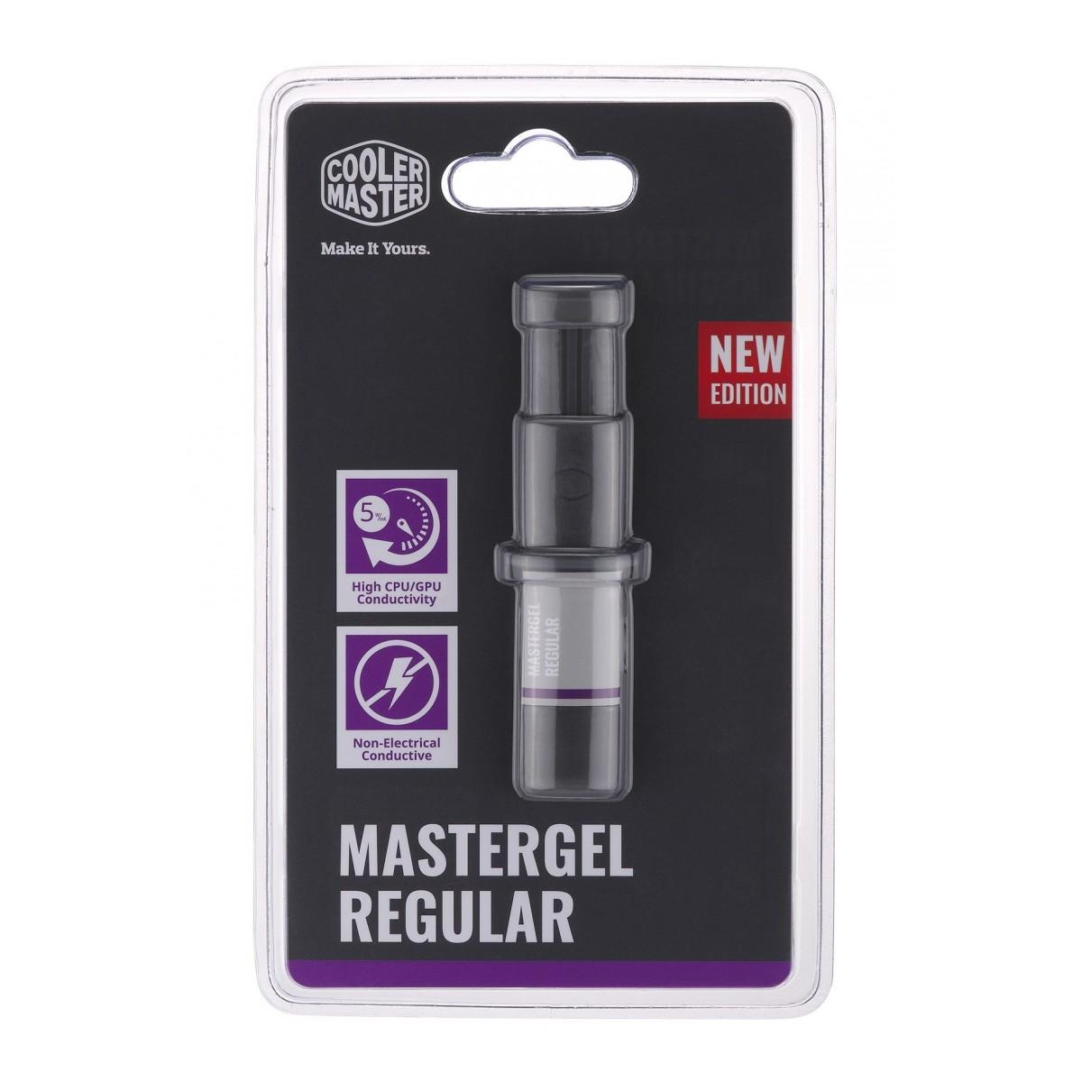 Pasta Térmica Mastergel Cooler Master, Regular, MGX-ZOSG-N15M-R2