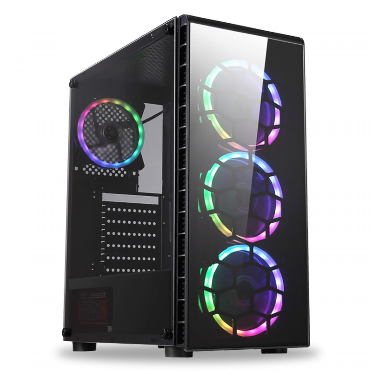 Pc Gamer T-Power Brutal Lvl-3 AMD Ryzen 5 3500 / Geforce RTX 2070 8GB / DDR4 16GB / HD 1Tb / 600W