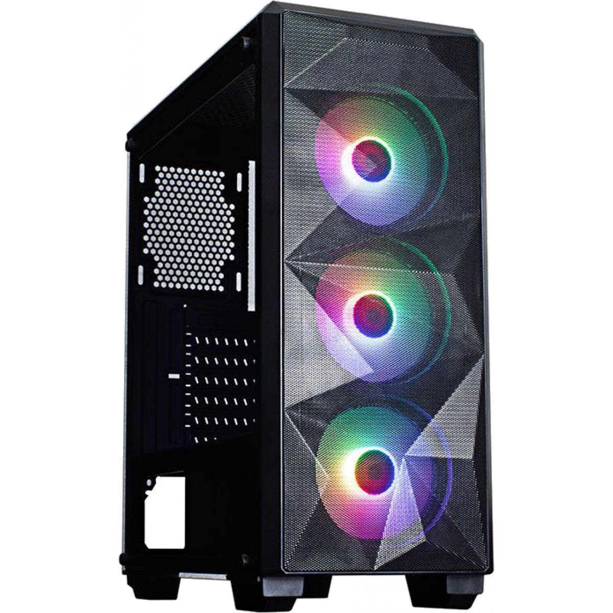 Pc Gamer Tera Edition AMD Ryzen 7 3700X / Radeon RX 570 4GB / DDR4 8GB / HD 1TB / 600W