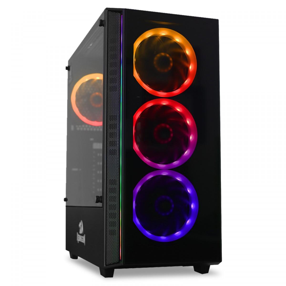 Pc Gamer Tera Edition Intel Core i5 9600KF / Radeon NAVI RX 5500 XT 8GB / DDR4 8GB / HD 1TB / 600W