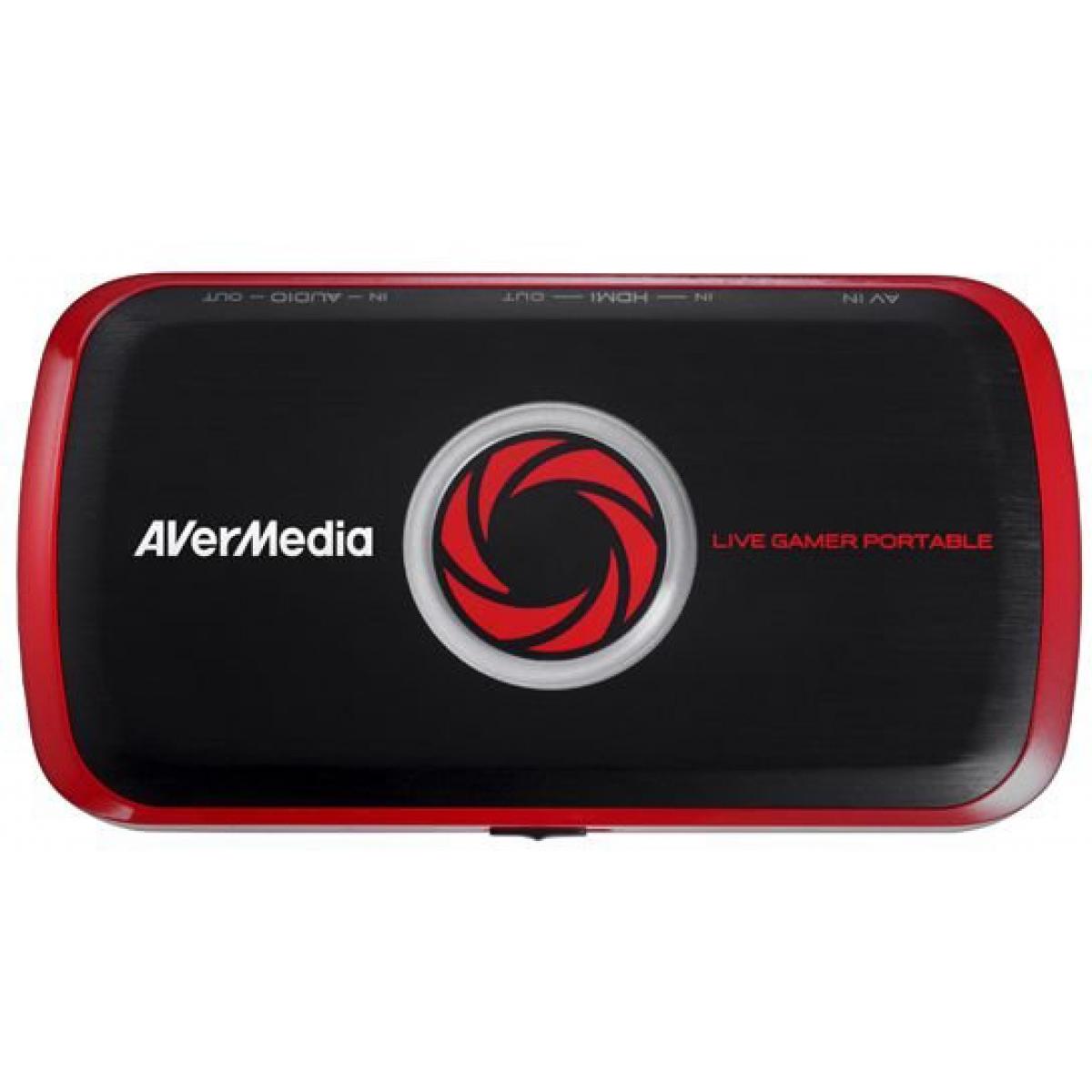 Placa de Captura Avermedia Live Gamer HD Interface 61C8750000AL PCI-E