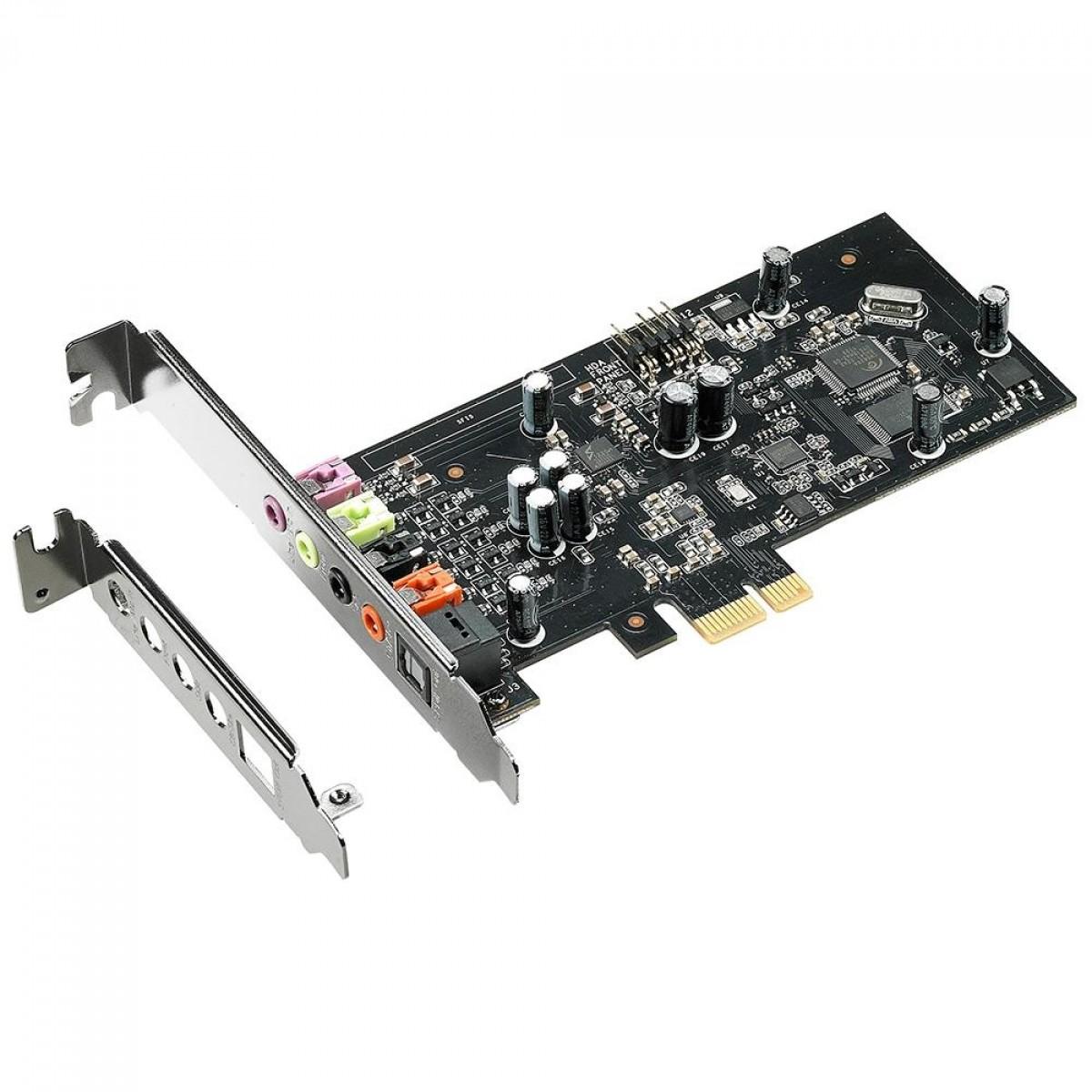 Placa de som Asus Xonar SE, PCIe, 5.1 canais, 90YA00T0-M0UA00
