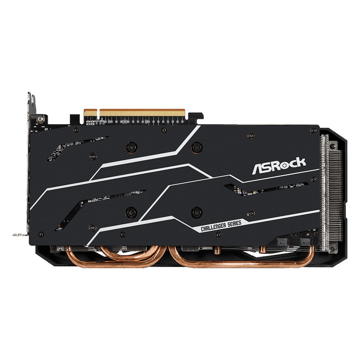 Placa de Vïdeo ASRock Radeon RX 6700 XT Challenger, 12GB, GDDR6, 192bit, 90-GA2KZZ-00UANF