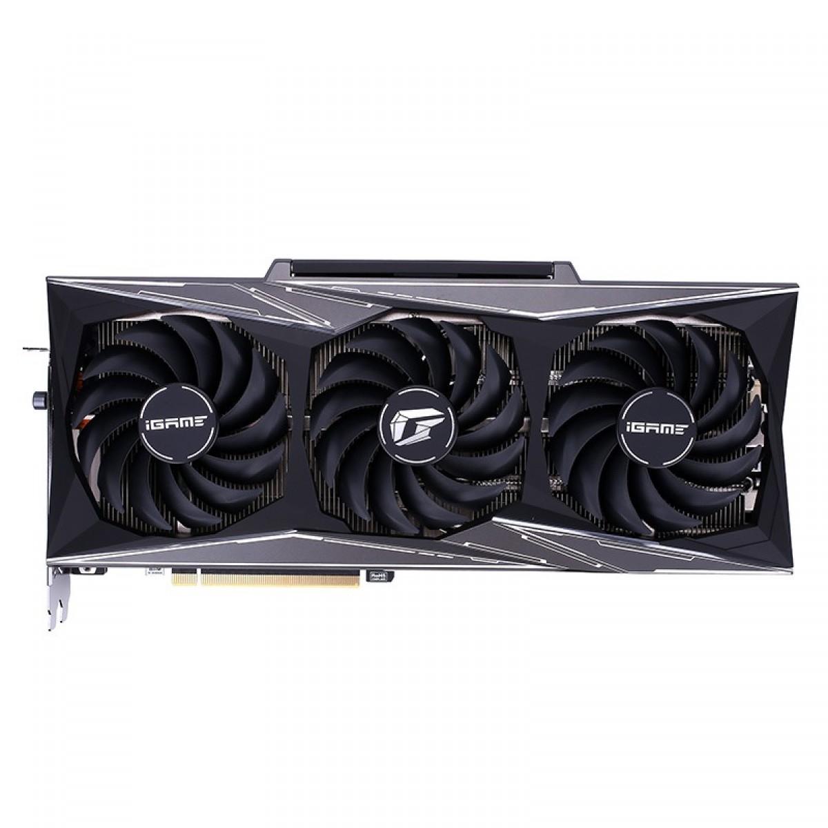 Placa de Vïdeo Colorful iGame GeForce RTX 3070 Ti Vulcan OC-V, 8GB, GDDR6, 256bit, LHR 212326116807