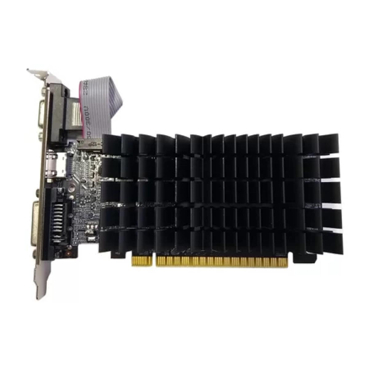Placa de Vídeo AFox GeForce G210, 1GB, DDR3, 64bit, AF210-1024D3L5-V2