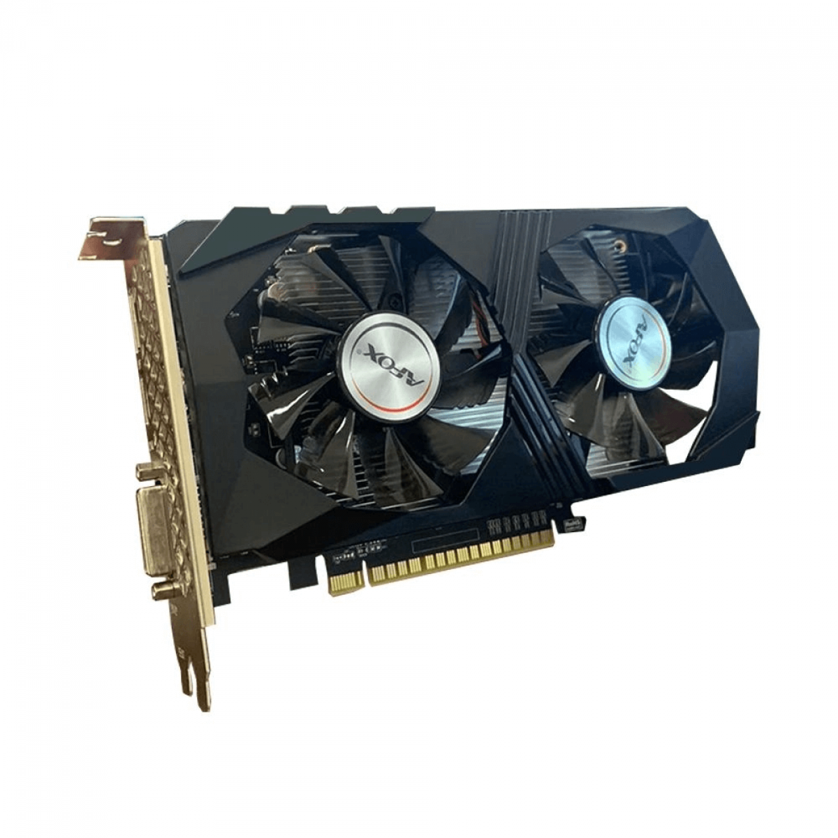 Placa de Vídeo Afox, GeForce, GTX 1050 Ti, 4GB GDDR5, 128Bit, AF1050TI-4096D5H5