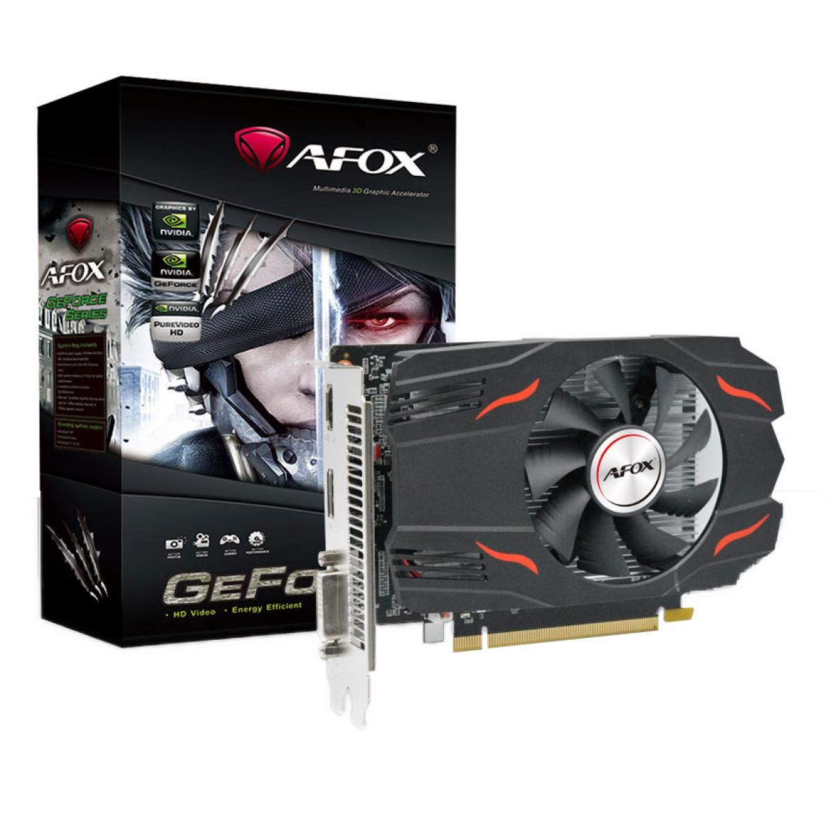 Placa de Vídeo Afox, GeForce, GTX 1650 SUPER, 4GB GDDR6, 128Bit, AF1650S-4096D6H1