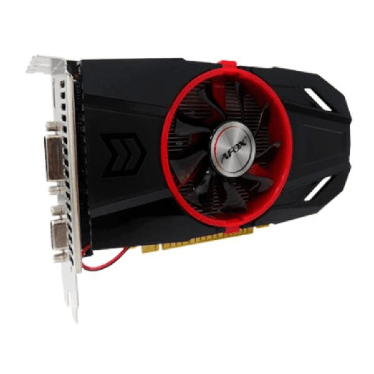 Placa de Vídeo Afox, GeForce GTX 750 TI, 4GB, DDR5, 128Bit, AF750TI-4096D5H4