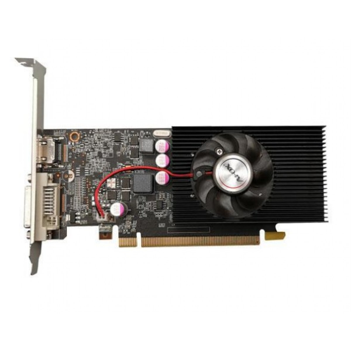 Placa de Vídeo Afox, GeForce, GT 1030, 2GB, GDDR5, 64Bit, AF1030-2048D5L4