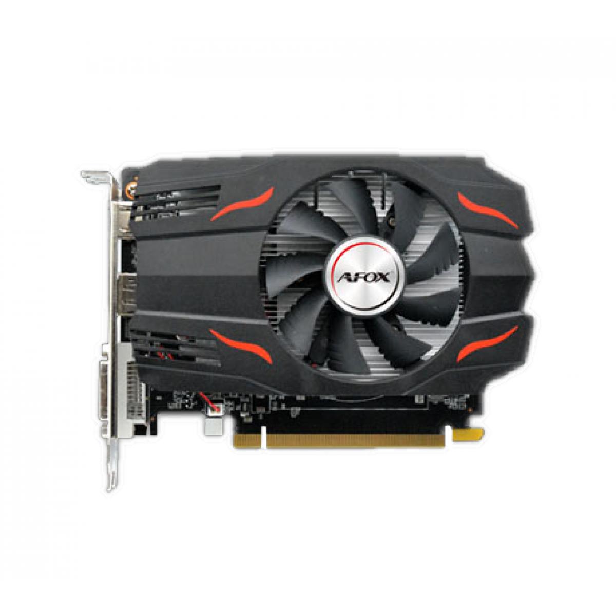Placa de Vídeo Afox, Radeon, RX 550, 2GB, GDDR5, 128Bit, AFRX550-2048D5H4 - Open Box