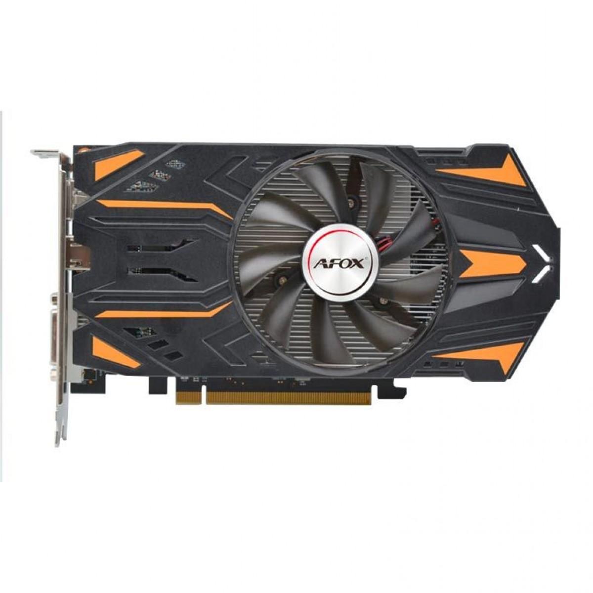 Placa de Vídeo Afox Radeon RX 550, 2GB, GDDR5, 128bit, AFRX550-2048D5H7
