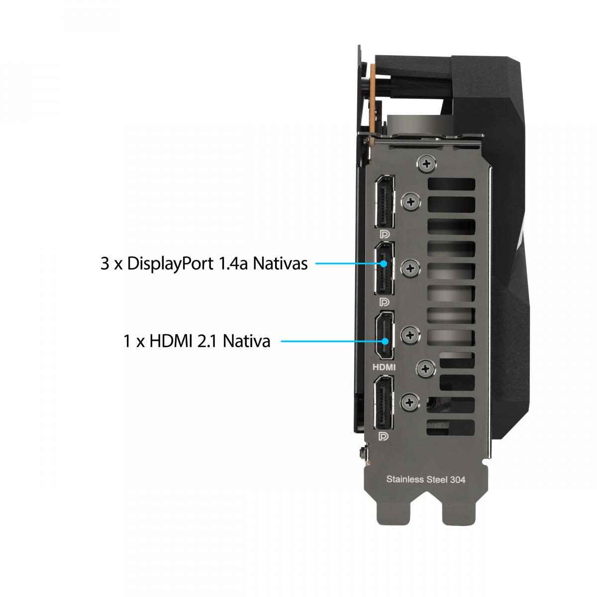 Placa de Vídeo Asus Radeon RX 6700 XT Dual, 12GB, GDDR6, 192-bit, DUAL-RX6700XT-12G