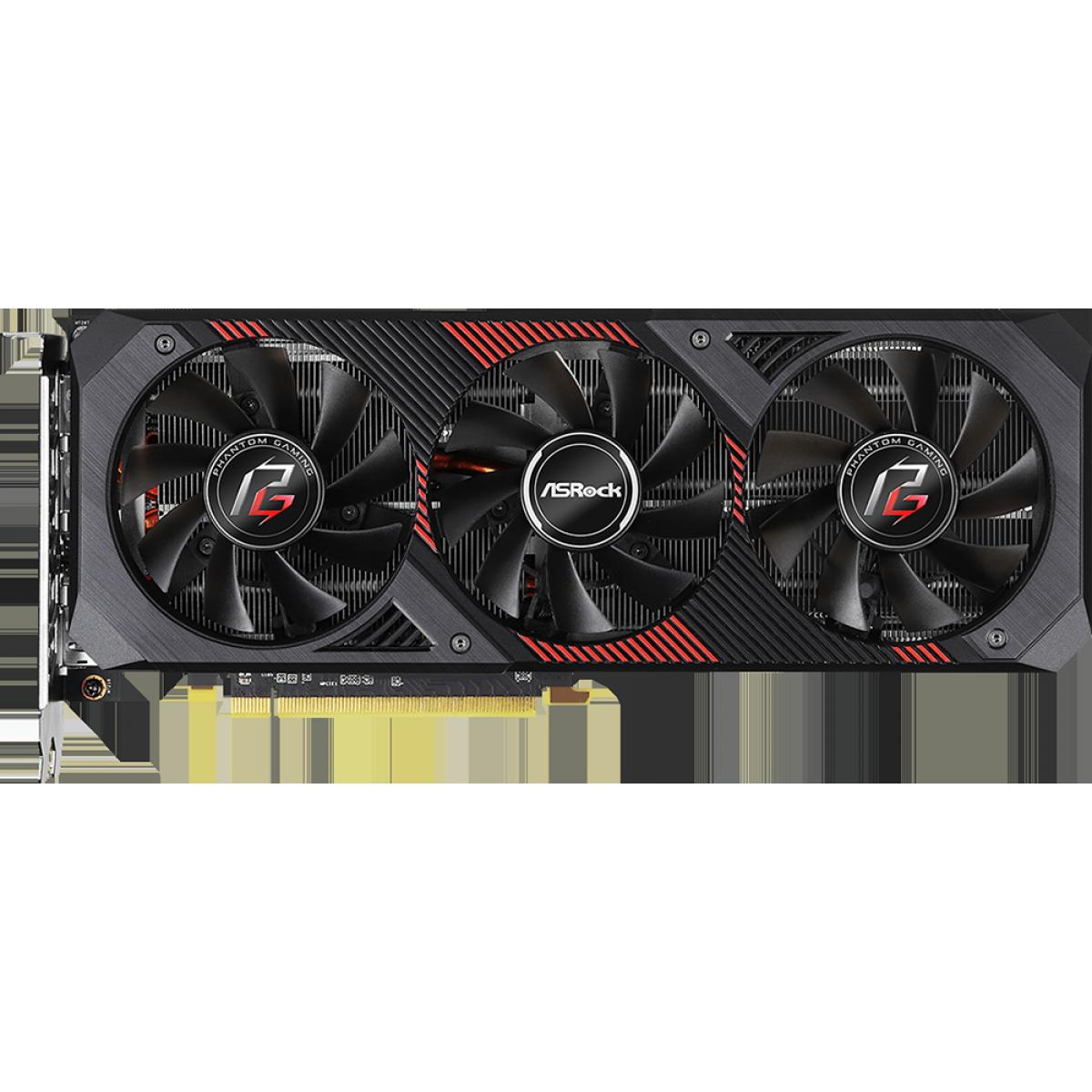 Placa de Vídeo ASRock AMD Radeon RX 5600 XT Phantom Gaming D3 OC, 6GB, GDDR6, 192Bit, 90-GA1VZZ-00UANF