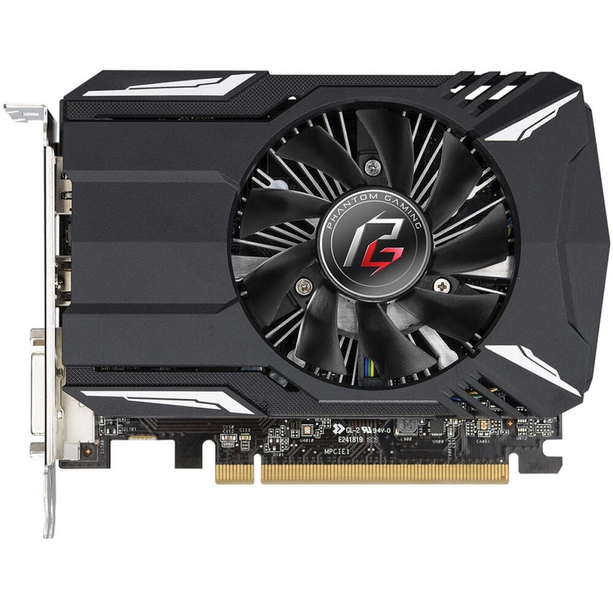 Placa de Vídeo Asrock, Radeon, RX 560 Phantom, 4GB, GDDR5, 128Bit, 90-GA0620-00UANF