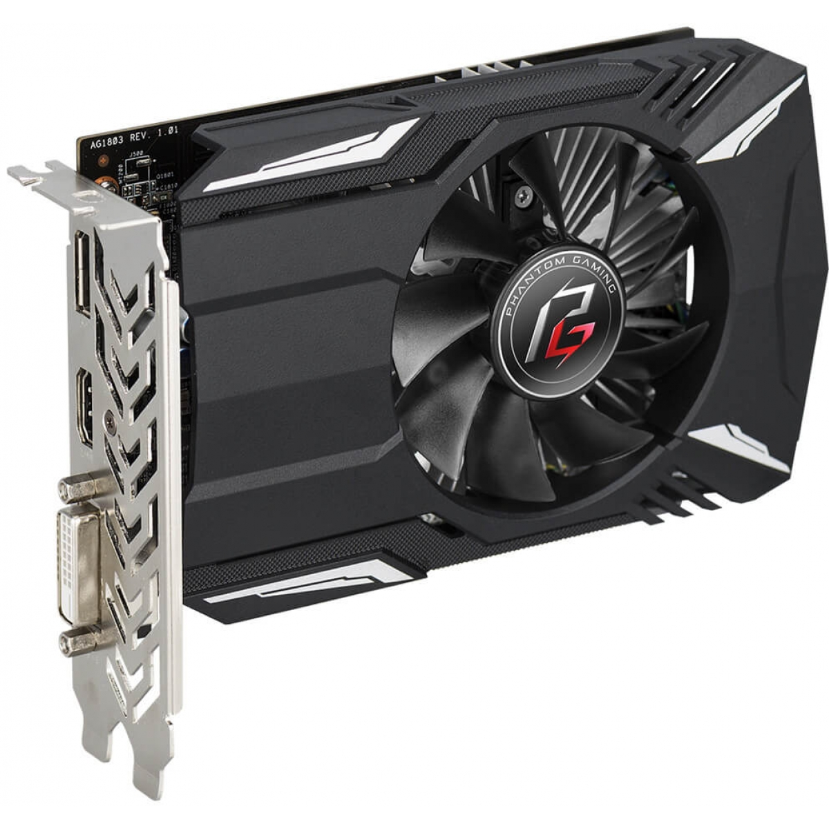 Placa de Vídeo Asrock Radeon RX 560 Phantom, 4GB GDDR5, 128Bit